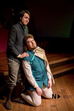 Julian comforts his master Cordelius